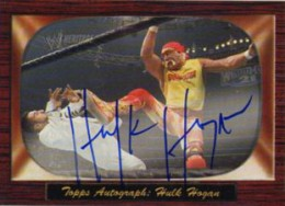 Hulk Hogan Cards and Memorabilia Guide 4