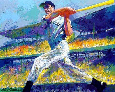 15 Amazing LeRoy Neiman Sports Paintings 10