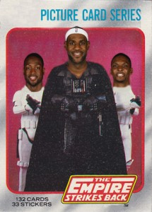 Empire Strikes Back: LeBron James Cards and the NBA Championship 1