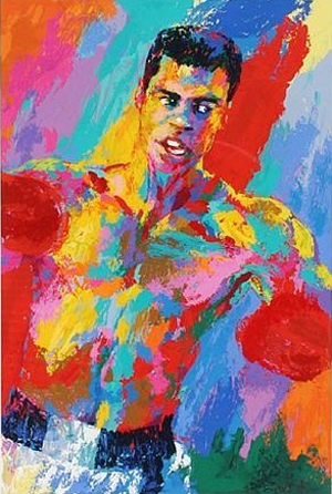 15 Amazing LeRoy Neiman Sports Paintings 11