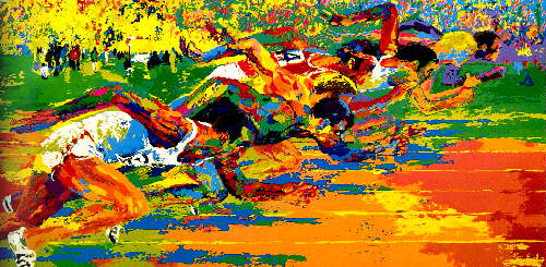 15 Amazing LeRoy Neiman Sports Paintings 12