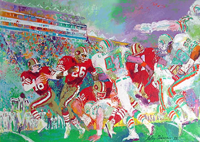 15 Amazing LeRoy Neiman Sports Paintings 13