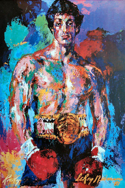 15 Amazing LeRoy Neiman Sports Paintings 14