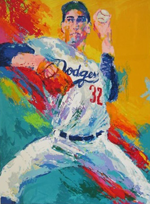 15 Amazing LeRoy Neiman Sports Paintings 15