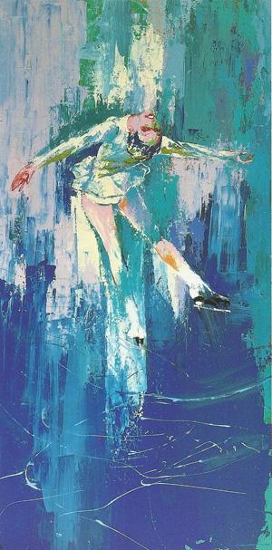 15 Amazing LeRoy Neiman Sports Paintings 16
