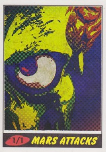 Top 10 2012 Topps Mars Attacks Sketch Card Sales 9