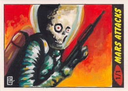 Top 10 2012 Topps Mars Attacks Sketch Card Sales 8