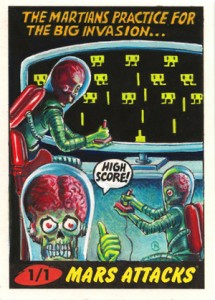 Top 10 2012 Topps Mars Attacks Sketch Card Sales 7