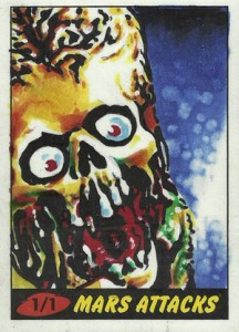 Top 10 2012 Topps Mars Attacks Sketch Card Sales 5