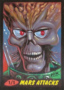 Top 10 2012 Topps Mars Attacks Sketch Card Sales 2
