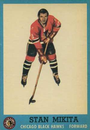 1962-63 Topps Hockey Base Card - Stan Mikita