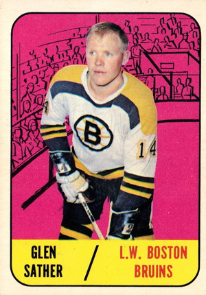 1967-68 Topps Hockey Cards 20