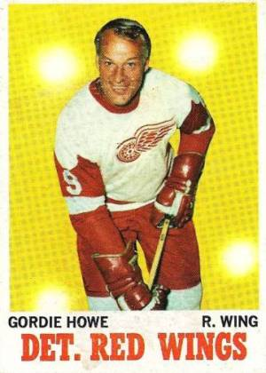 1970-71 Topps Hockey Gordie Howe