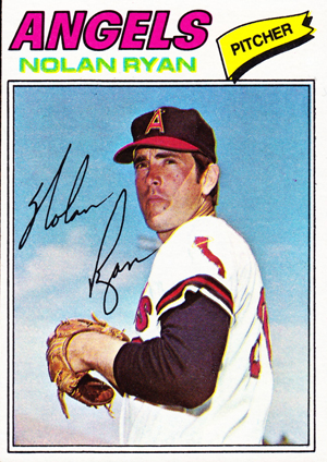 1977 Topps Baseball Nolan Ryan