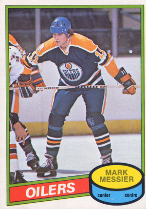1980-81 O-Pee-Chee Hockey Mark Messier RC