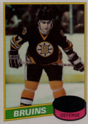 1980-81 Topps Hockey Ray Bourque RC