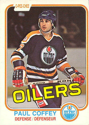 1981-82 O-Pee-Chee Paul Coffey RC