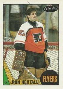 1987-88 O-Pee-Chee Ron Hextall RC