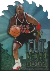 Michael Jordan Cards - 1996-97 E-X2000 A Cut Above Michael Jordan