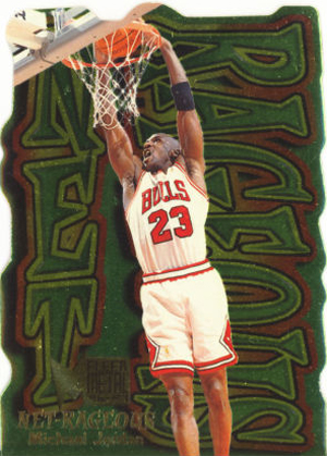 1996-97 Metal Net-Rageous Michael Jordan