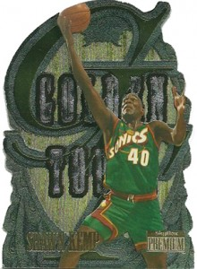 1996-97 SkyBox Premium Golden Touch Shawn Kemp