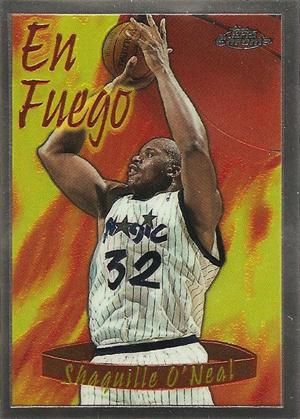 1996-97 Topps Chrome Basketball Season's Best Card