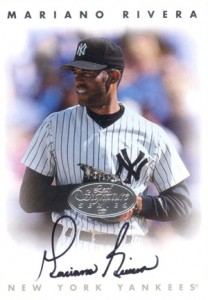 1996 Leaf Signature Series Silver Autographs Mariano Rivera