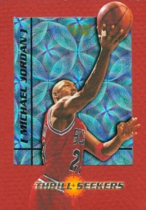 1997-98 Fleer Thrill Seekers Michael Jordan