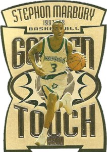 1997-98 SkyBox Premium Golden Touch Stephon Marbury