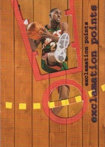 1998-99 Ultra Exclamation Points Gary Payton