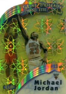 1997-98 Ultra Star Power Supreme Michael Jordan