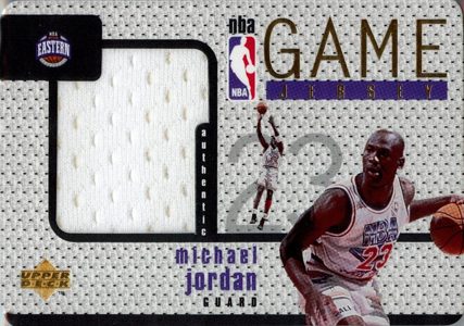 1997-98 Upper Deck Game Jerseys Michael Jordan