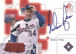 1999 SP Signature Edition Autographs Nolan Ryan