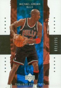 2003-04 Exquisite Collection Michael Jordan #/225