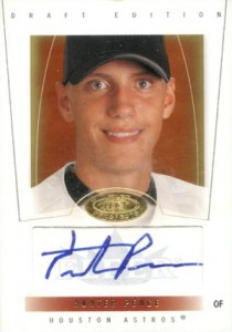 2004 Fleer Hot Prospects Draft Hunter Pence RC Autograph #/299