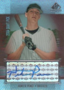 2004 SP Prospects Hunter Pence RC Autograph #/600