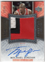 The Top Michael Jordan Autographed Cards of All-Time 7