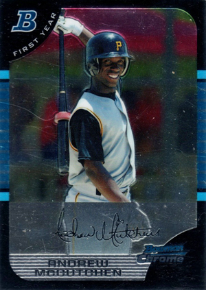 Andrew McCutchen Cards and Autographed Memorabilia Guide 1