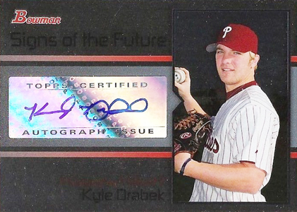 2008 Bowman Draft Picks & Prospects Baseball Cards 7