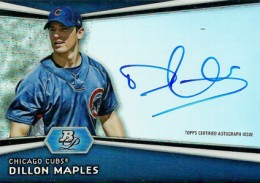 2012 Bowman Platinum Baseball Prospect Autographs Guide 12