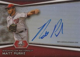 2012 Bowman Platinum Baseball Prospect Autographs Guide 25