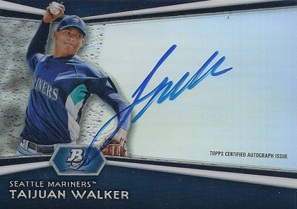 Top Taijuan Walker Baseball Cards 4