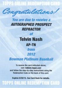 2012 Bowman Platinum Baseball Prospect Autographs Guide 32