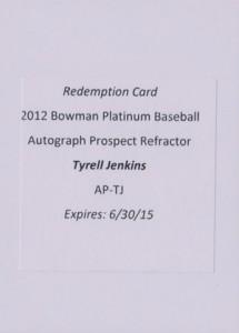 2012 Bowman Platinum Baseball Prospect Autographs Guide 31