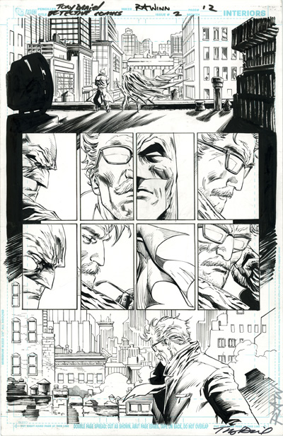 Original Comic Art Giveaway in 2012 Cryptozoic DC Comics The New 52 2