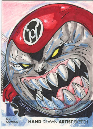 Exlcusive 2012 Cryptozoic DC Comics The New 52 Sketch Card Preview 3