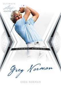2012 Leaf Ultimate Golf Cards 6