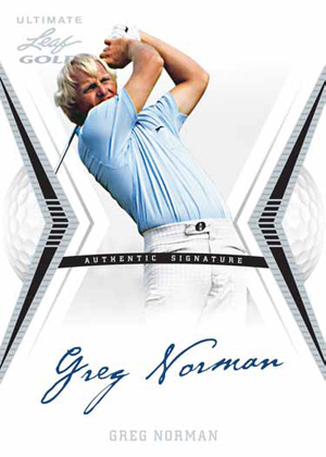 2012 Leaf Ultimate Golf Cards 1