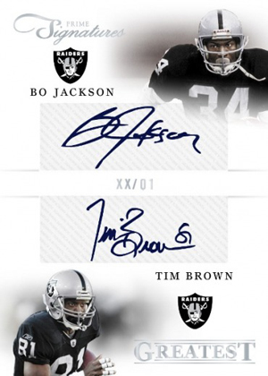 2012 Panini Prime Signatures Football Cards 5