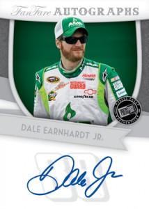 2012 Press Pass Fanfare Racing Fanfare Autographs Dale Earnhardt Jr